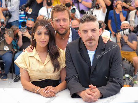 Stock Image of Leila Bekhti, Joachim Lafosse and Damien Bonnard