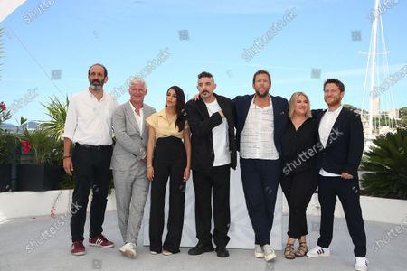 Stock Picture of Jani Thiltges, Alexandre Gavras, Leila Bekhti, Damien Bonnard, Joachim Lafosse, Eva Kuperman, Anton Iffland Stettner