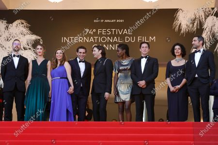 Editorial photo of Closing Award Ceremony Arrivals - 74th Cannes Film Festival, France - 17 Jul 2021