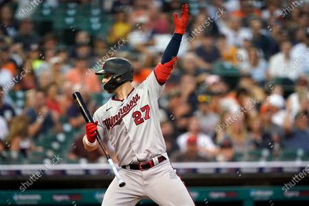Editorial picture of Twins Tigers Baseball, Detroit, United States - 17 Jul 2021