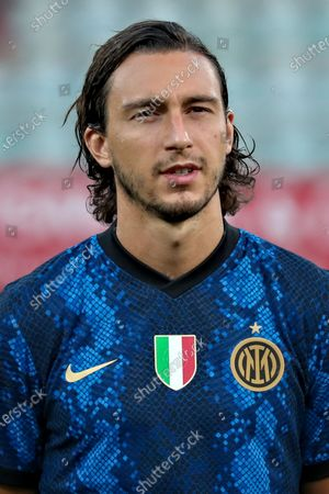 Stock Picture of Matteo Darmian of FC Internazionale looks on during the Pre-Season Friendly match between Lugano and FC Internazionale at Cornaredo Stadium on July 17, 2021 in Lugano, Switzerland.