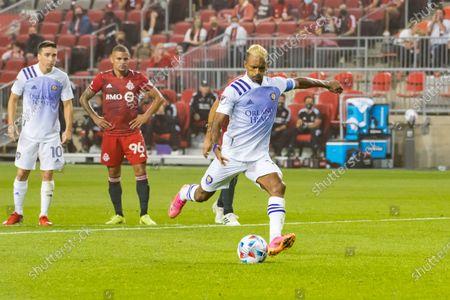 Editorial image of Toronto FC v Orlando City SC in Canada - 17 Jul 2021