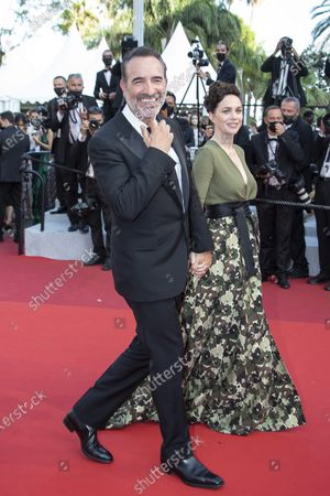 """Nathalie Pechalat, Jean Dujardin attend the final screening of """"OSS 117: From Africa With Love"""" and closing ceremony"""