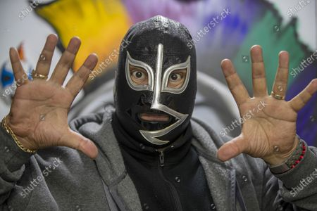 Editorial picture of 'Wrestler Rayo De Jalisco' Autograph Signing, Mexico City, Mexico - 17 Jul 2021