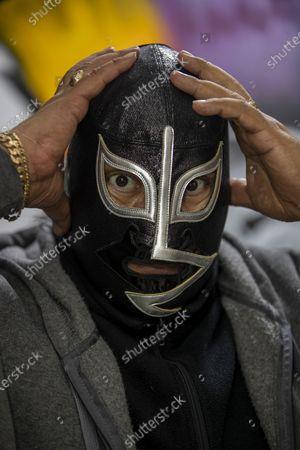 Editorial image of 'Wrestler Rayo De Jalisco' Autograph Signing, Mexico City, Mexico - 17 Jul 2021