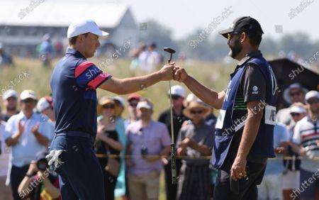 Editorial photo of British Open Golf, Sandwich, United Kingdom - 18 Jul 2021