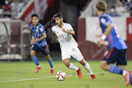 Marco Asensio (SPN) - Football / Soccer : Kirin Challenge Cup 2021 between U-24 Japan 1-1 U-24 Spain at Noevir Stadium Kobe, Hyogo, Japan.