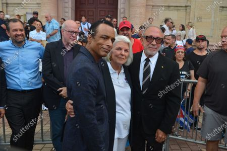 Editorial photo of Cuban community demonstration, Miami, Florida, USA - 17 Jul 2021
