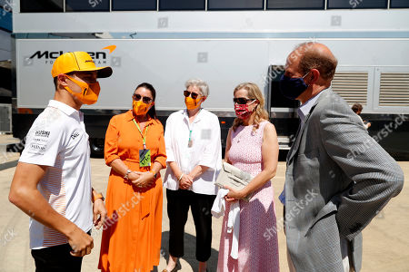 Editorial photo of Earl and Countess of Wessex at F1 British Grand Prix, Silverstone, UK - 18 Jul 2021