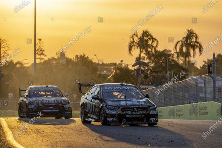 Stock Photo of TOWNSVILLE, AUSTRALIA - JULY 17: Jake Kostecki, Matt Stone Racing, Holden Commodore ZB at Townsville on Saturday July 17, 2021 in Townsville, Australia. (Photo by Mark Horsburgh / LAT Images)