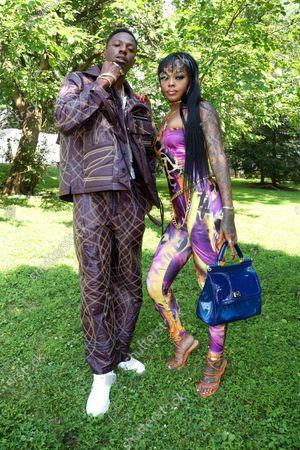 Stock Image of Joey Badass and Maliibu Miitch