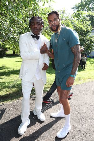 Stock Image of 22gz and Jidenna