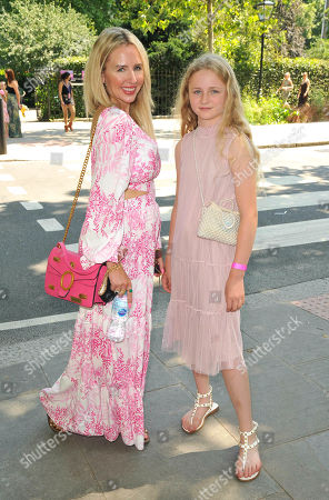 Stock Image of Naomi Isted and her daughter