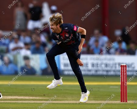 Editorial picture of Kent Spitfires vs Sussex Sharks, Vitality Blast T20, Cricket, The Spitfire Ground, Canterbury, Kent, United Kingdom - 18 Jul 2021