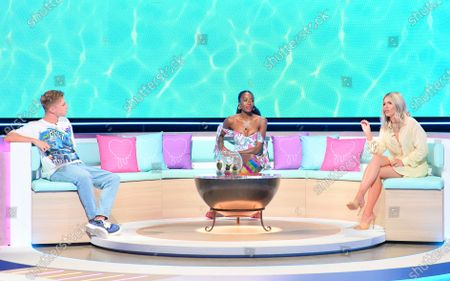Stock Image of Hrvy, AJ Odudu and Mollie King