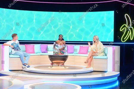 Editorial image of 'Love Island: Aftersun' TV show, Series 7, Episode 3, London, UK - 18 Jul 2021