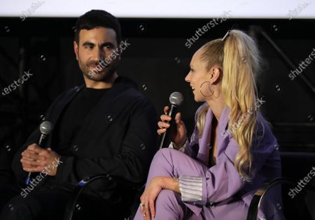 """: Brett Goldstein and Juno Temple attend the """"Ted Lasso"""" season two special FYC screening at the Pacific Design Center. The second season of """"Ted Lasso"""" will make its global debut on Apple TV+ on Friday, July 23."""
