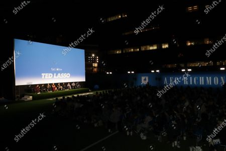 """Editorial image of Apple's """"Ted Lasso"""" Season Two Special FYC Screening at the Pacific Design Center, Los Angeles, CA, USA - 16 Jul 2021"""