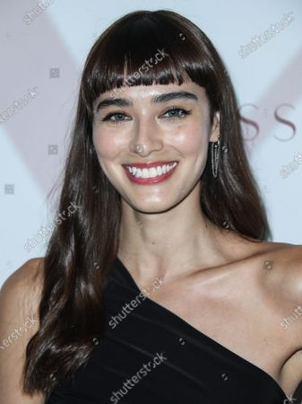 Actress Margaux Brooke arrives at the Los Angeles Premiere Of Passionflix's Series 'Driven' Season 2 held at AMC Santa Monica 7