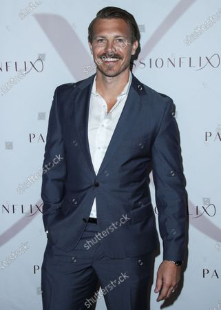 Actor Michael Roark arrives at the Los Angeles Premiere Of Passionflix's Series 'Driven' Season 2 held at AMC Santa Monica 7