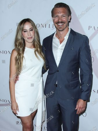 Stock Photo of Actor Michael Roark arrives at the Los Angeles Premiere Of Passionflix's Series 'Driven' Season 2 held at AMC Santa Monica 7