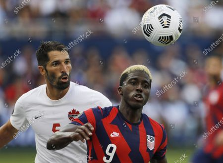 Editorial image of CONCACAF Gold Cup Canada US Soccer, Kansas City, United States - 17 Jul 2021