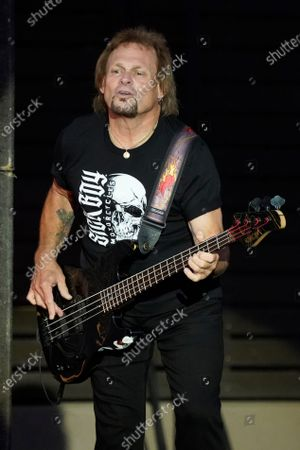 Michael Anthony performs with Sammy Hagar & The Circle at RiverEdge Park in Aurora, Ill