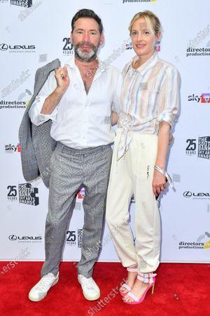 Stock Photo of Mat Collishaw and Polly Morgan