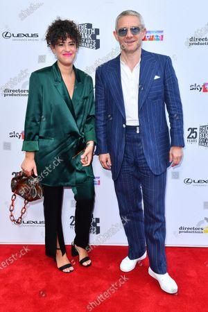 Stock Image of Rachel Mariam and Martin Freeman