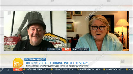 Stock Photo of Johnny Vegas and Rosemary Shrager