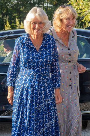 Editorial picture of Prince Charles and Camilla Duchess of Cornwall visit to Devon and Cornwall, Day 1, UK - 19 Jul 2021