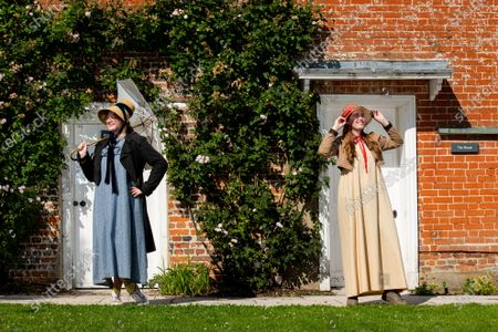 Editorial photo of Preparations ahead of the 204th anniversary of the death of Jane Austen,  Jane Austen's House Museum, Chawton near Alton, Hampshire, UK - 15 Jul 2021