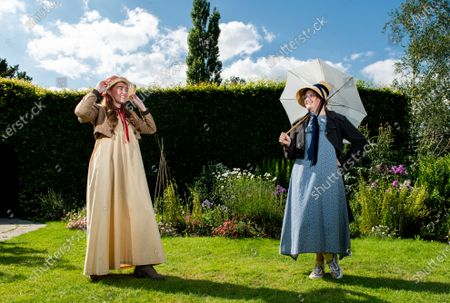 Editorial image of Preparations ahead of the 204th anniversary of the death of Jane Austen,  Jane Austen's House Museum, Chawton near Alton, Hampshire, UK - 15 Jul 2021