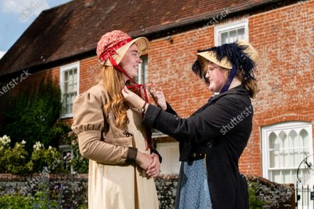 Editorial picture of Preparations ahead of the 204th anniversary of the death of Jane Austen,  Jane Austen's House Museum, Chawton near Alton, Hampshire, UK - 15 Jul 2021
