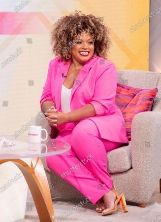 Editorial image of 'Lorraine' TV show, London, UK - 19 Jul 2021