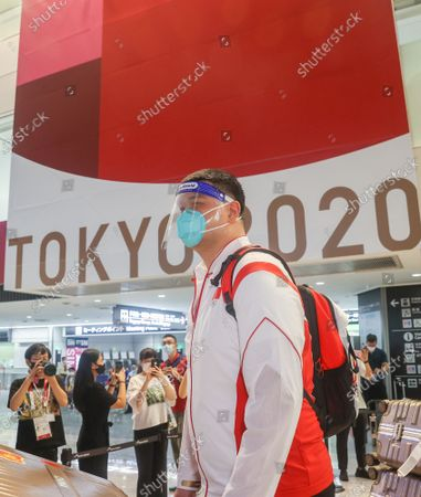 Editorial image of Japan Tokyo Chinese Delegation Arrival - 19 Jul 2021
