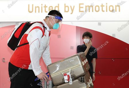 Editorial photo of Japan Tokyo Chinese Delegation Arrival - 19 Jul 2021