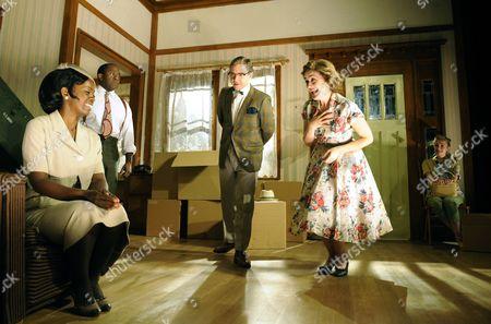 Lorna Brown (Francine) Lucian Msamati (Albert) Martin Freeman (Karl) Sophie Thompson (Bev) Sarah Goldberg (Betsy)