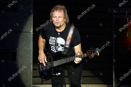 Michael Anthony performs with Sammy Hagar & The Circle at RiverEdge Park in Aurora, Ill. on