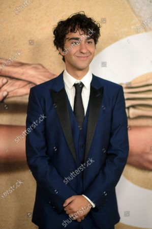 Stock Picture of Alex Wolff