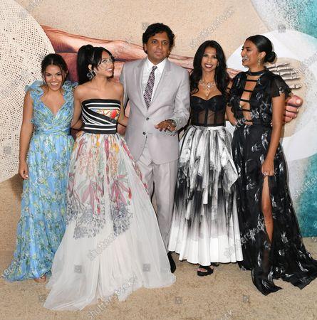 Shivani Shyamalan, Saleka Shyamalan, M Night Shyamalan, Bhavna Vaswani and Ishani Shyamalan
