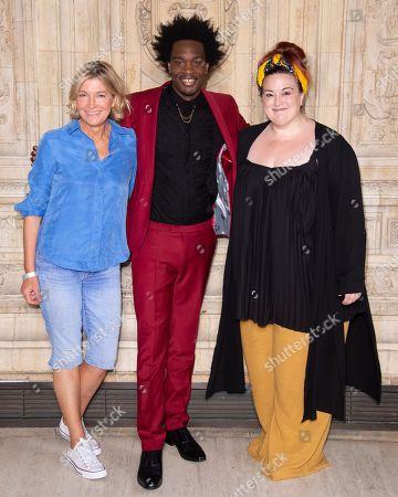 Stock Image of  Jemma Redgrave, Lionheart and Emma Lindars