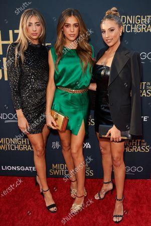 Sophia Rose Stallone, Sistine Rose Stallone and Scarlet Rose Stallone