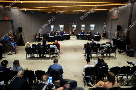 Editorial photo of Senate Field Hearing Voting Rights GA, National Center for Civil and Human Rights, Atlanta, USA - 19 Jul 2021