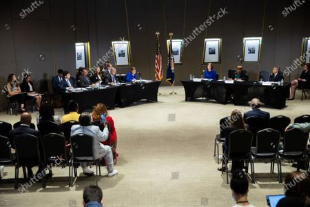 Editorial picture of Senate Field Hearing Voting Rights GA, National Center for Civil and Human Rights, Atlanta, USA - 19 Jul 2021