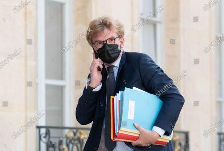 Editorial photo of Weekly cabinet meeting at Elysee Palace, Paris, France - 19 Jul 2021