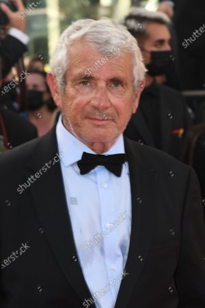 """Michel Boujenah attend the final screening of """"OSS 117: From Africa With Love"""" and closing ceremony during the 74th annual Cannes Film Festival on July 17, 2021 in Cannes"""