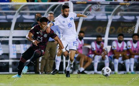 Editorial photo of CONCACAF Mexico El Salvador Soccer, Dallas, United States - 18 Jul 2021
