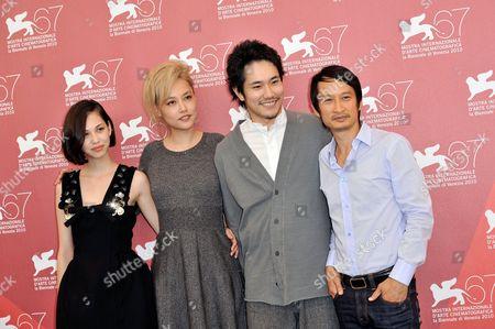 Kiko Mizuhara, Rinko Kikuchi, Kenichi  Matsuyama, director Tran Anh Hung