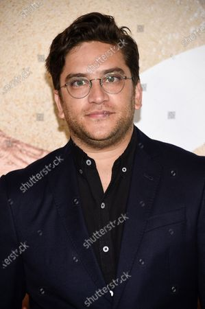 """Stock Photo of Actor Matthew Shear attends the world premiere of """"Old"""" at Rose Theater at Jazz at Lincoln Center, in New York"""